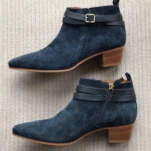 Shoes - Alberto Fermani Navt Suede Booties